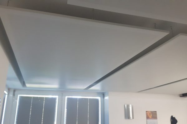 Büro Akustikdecken